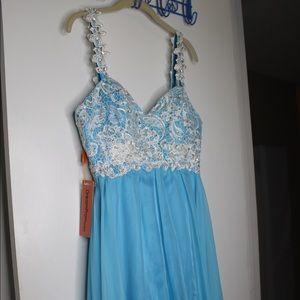 Powder Blue Dream Prom Dress